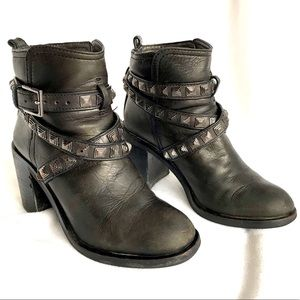 Tory Burch Hastings Studded 85mm Bootie Ankle Boot